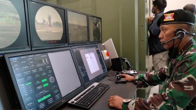 Melihat dari Dekat Simulator Tank Leopard di Sekolah para Prajurit Baret Hitam